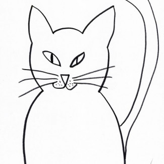 Narysuj mi kotka