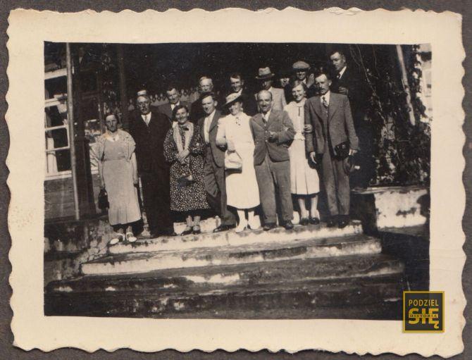 Dożynki w Radzanowie - sierpień 1939