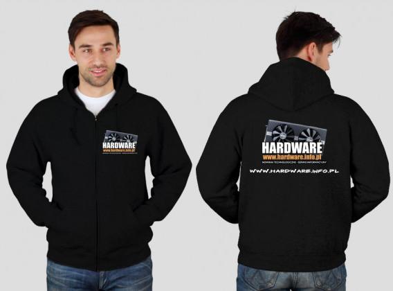Bluza czarna z logiem Hardware.info.pl