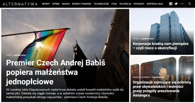 Strona główna Alternatywa.net.pl