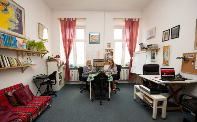 centrum dowodzenia na 18 m2