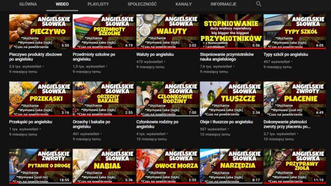 nauka angielskiego na YouTube kanał Elanguages