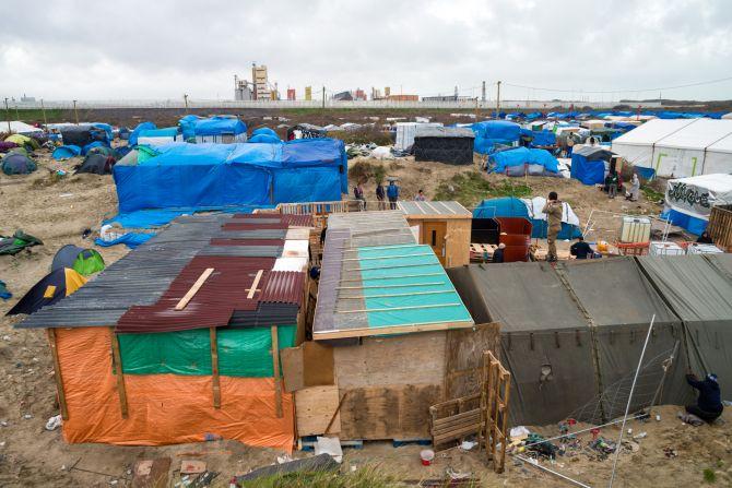 Obóz Uchodźców, Calais, Francja
