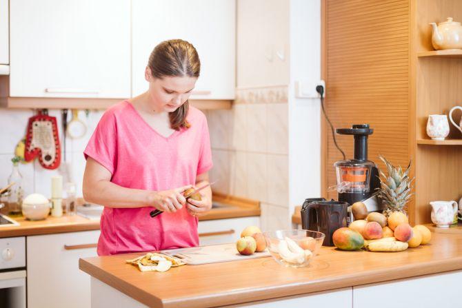 anna w kuchni