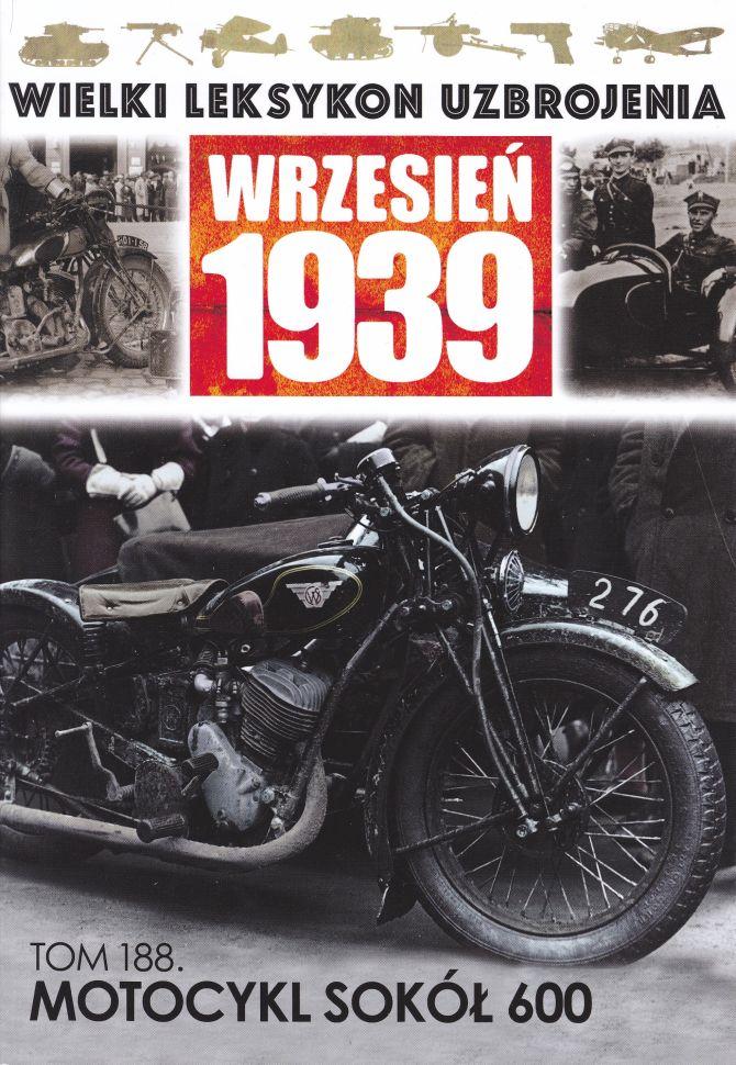 Maciej Tomaszewski motocykl Sokół 600