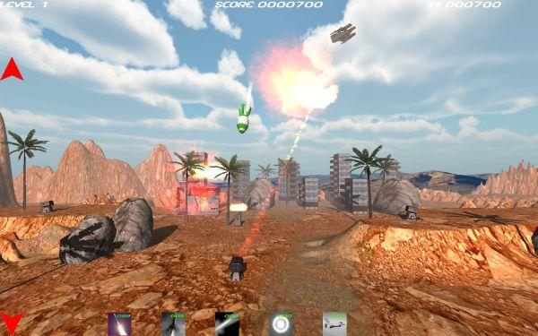 Rocket Attack Deluxe