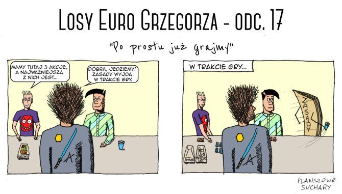 Losy Euro Grzegorza - odcinek 17