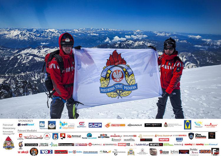Adrian Socha Mont Blanc Charytatywnie