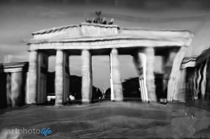 Brama Brandenburska w Berlinnie