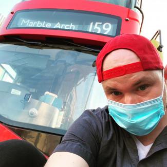 Piotrek Kierowca Autobusu Czerwonego