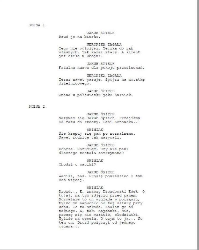 Dialog scenariuszowy