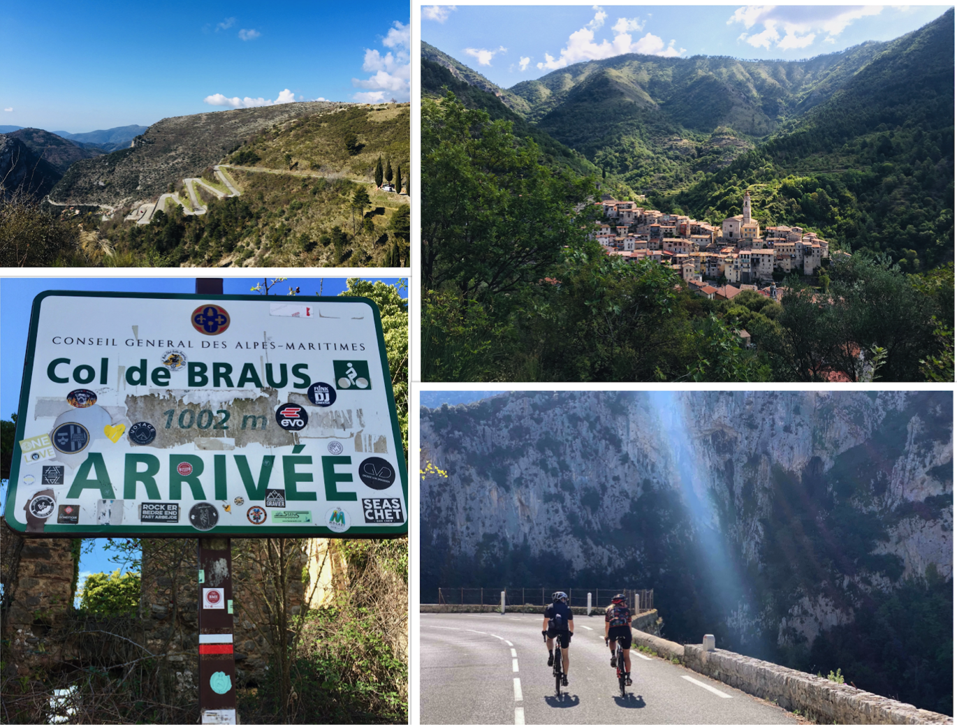Col de Braus with She's a Cyclist