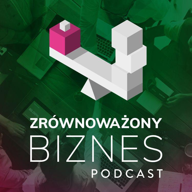 logo podcastu Zrównoważony Biznes