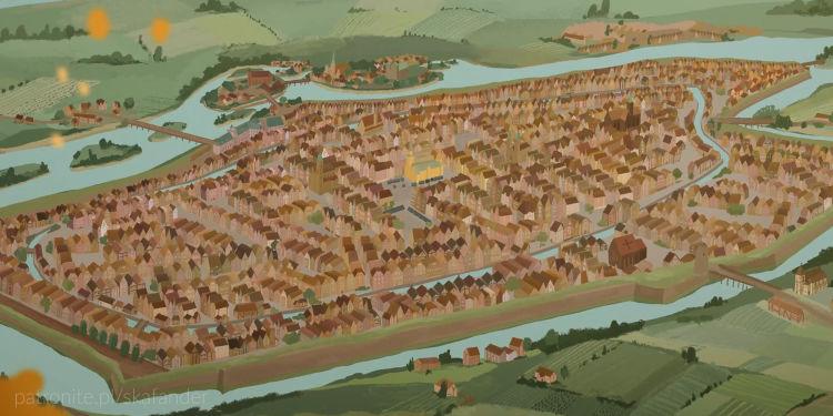 Wrocław pod koniec osiemnastego wieku
