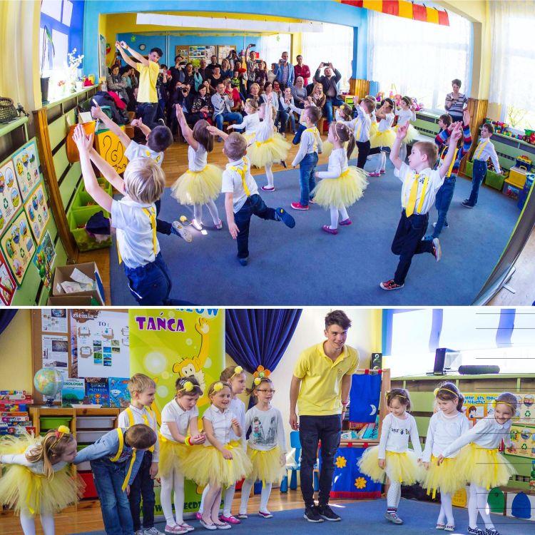 Nauka tańca dla przedszkolaków