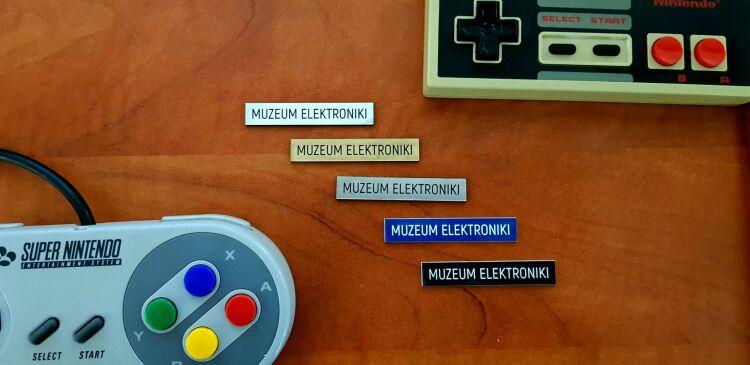 Plakietki Muzeumn Elektroniki