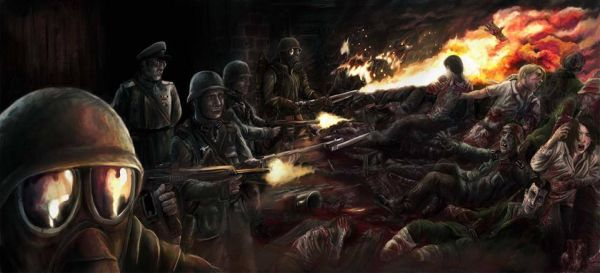plakat filmu Ludobójstwo