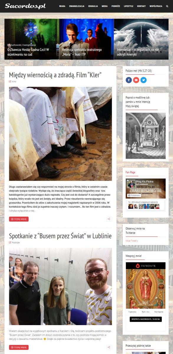 Mój Blog Sacerdos.pl